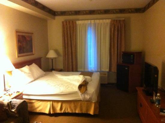 Holiday Inn Express Anchorage: Room 124