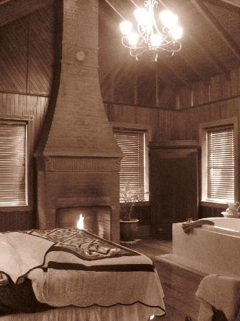 Speedwell Forge B&B: Cottage in sepia...seemed appropriate given how old the place is : )
