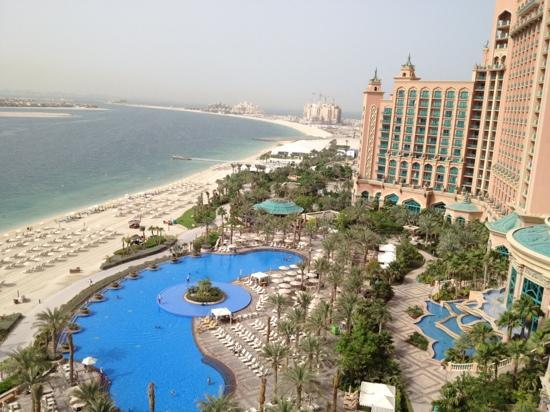 Swimming Pool Beach Picture Of Atlantis The Palm