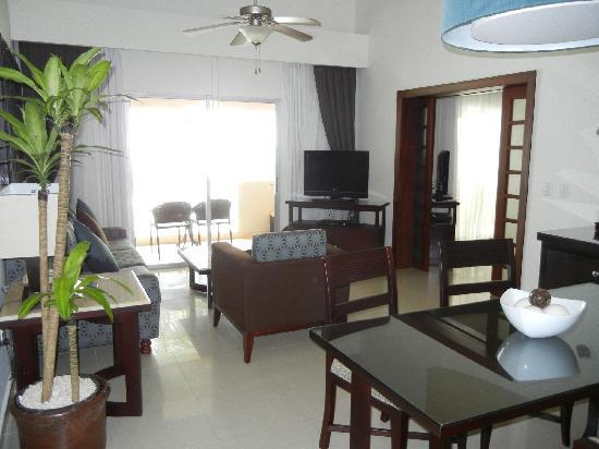 Dreams Palm Beach Punta Cana: great ocean front suite