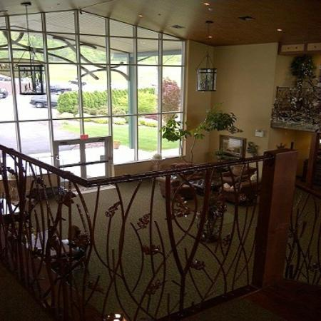 Bucks County, Pensilvania: lobby / entrance
