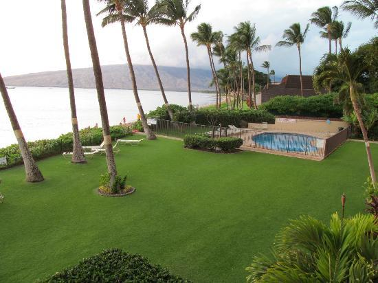 Kihei Beach: from patio #205