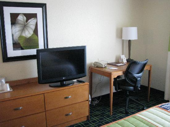 Fairfield Inn & Suites Fairmont: Room 207