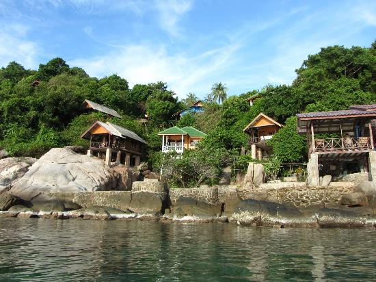 Tao Thong Villa: View from the water
