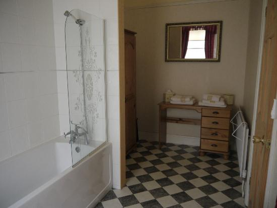 Plas Llwyd: ...the other half of the bathroom!