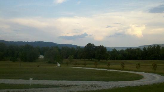 Morrison, TN: Looking out from the front porch
