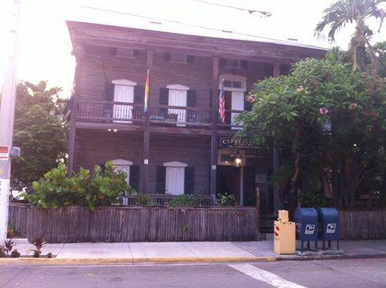Cypress House Key West: cute and quaint