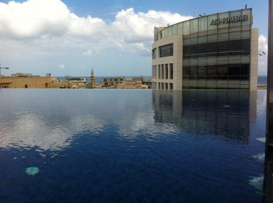 Le Gray Beirut: the swimming pool
