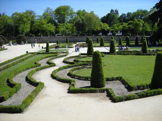 Madrid, Spain: jardin