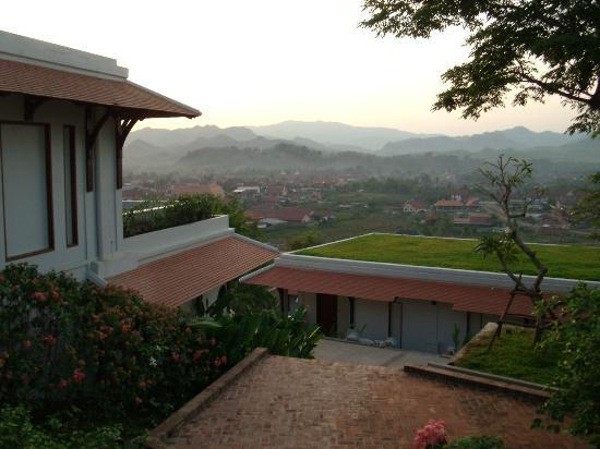 Luang Prabang View Resort: View across the town