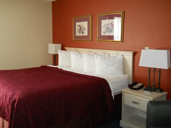 Quality Inn: King-size room