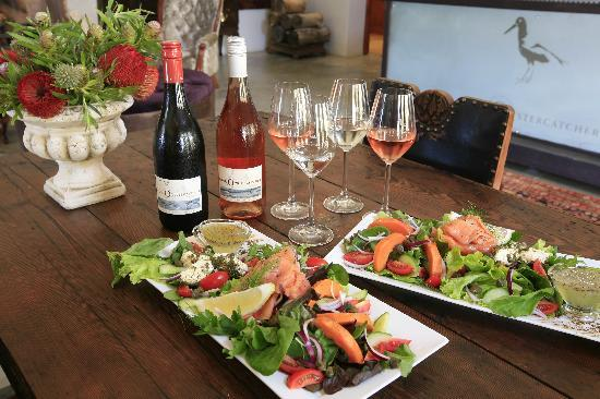 Bredasdorp, Sr-Afrika: Food and wine pairings