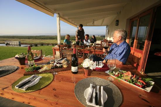 Bredasdorp, Sr-Afrika: Scenic Strandveld views