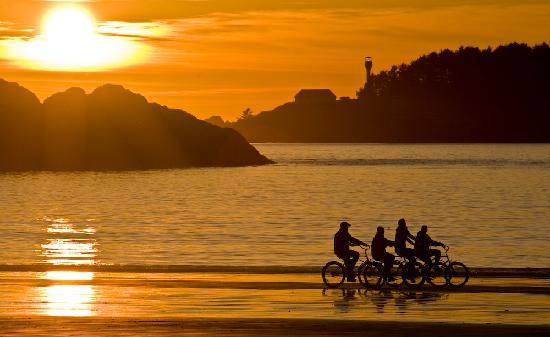 Tofino Beach Homes: Chesterman Beach at Sunset