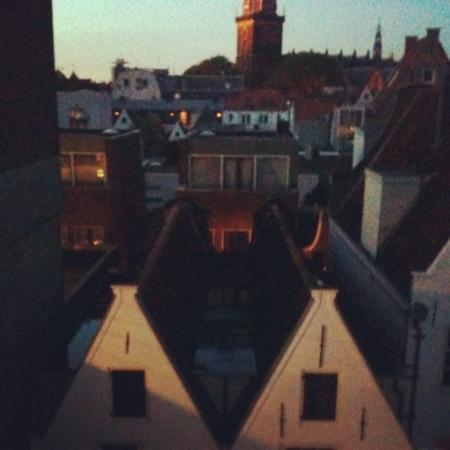 The Bulldog Hotel: view from the roof terrace