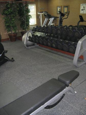 Hampton Inn &amp; Suites Denton: Fitness Center