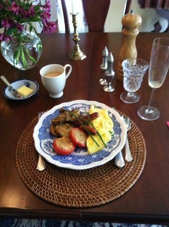 Pilgrim&#39;s Way Bed and Breakfast: amazing breakfast!