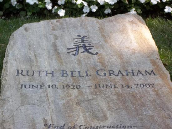 Ruth Grave Ruth Graham's Grave