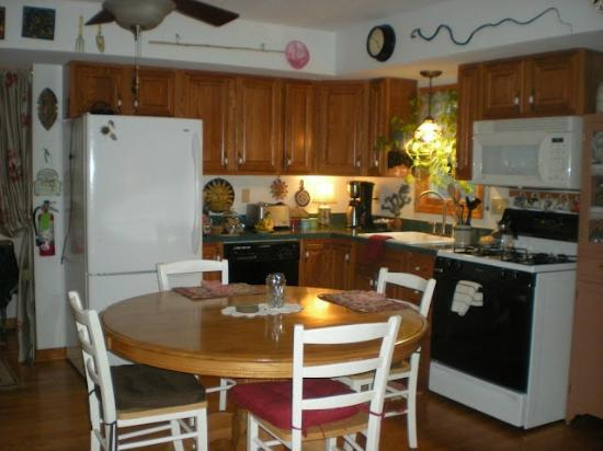 Elves Manor Guest House: Homey Kitchen