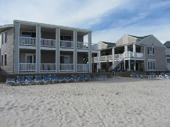 Ocean Walk Hotel: Located on the Beach