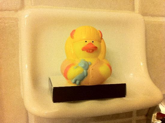 Jefferson Clinton Hotel: My Rubber Duckie Buddy