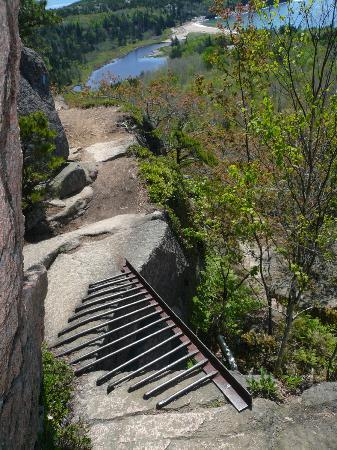 Iron Quot Bridge Quot Picture Of Beehive Trail Acadia National