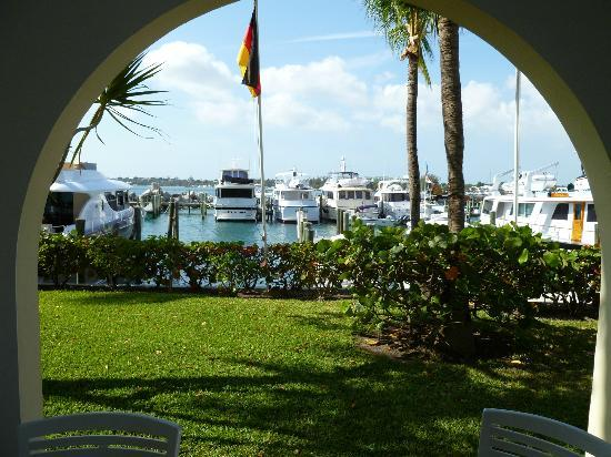 Paradise Harbour Club and Marina: Outside our room