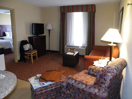 Hampton Inn & Suites Williamsburg-Richmond Rd.: Kick back time and space