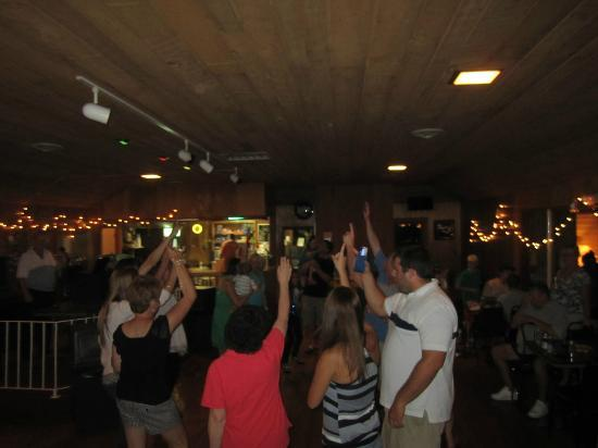 Baumann's Brookside: dancing like crazy in the rec hall