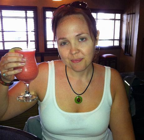 Radisson Ambassador Plaza Hotel & Casino San Juan: the free strawberry daiquiri from the Ambassador Grill