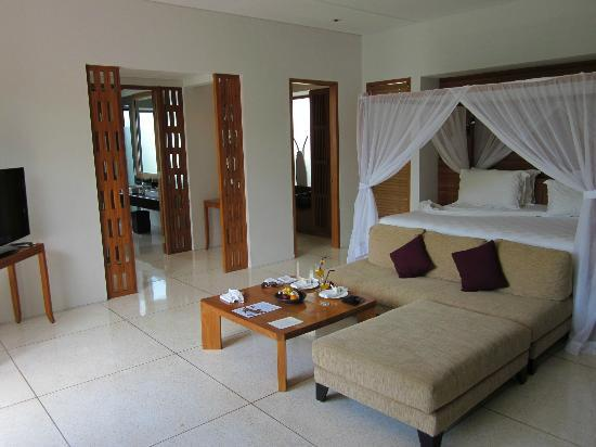 The Samaya Bali: The wonderfully spacious bedroom