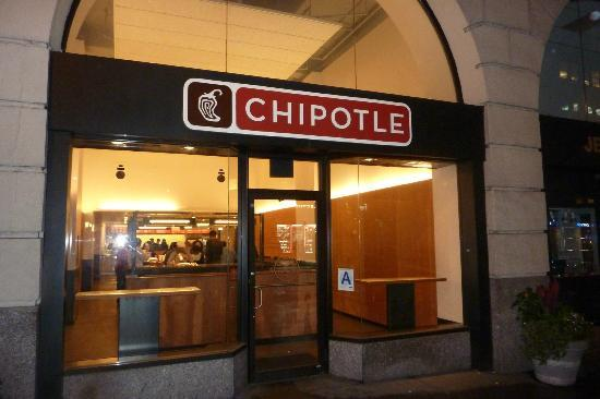 Chipotle Mexican Grill New York City 304 W 34th St Chelsea Menu Prices Tripadvisor