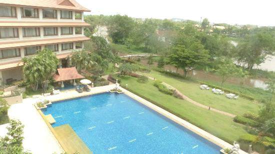 Imperial River House Resort: View from room