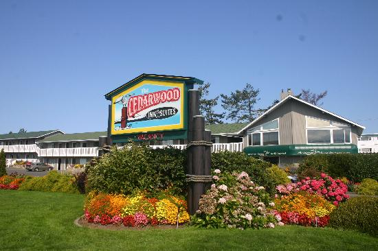 The Cedarwood Inn and Suites: Gardens