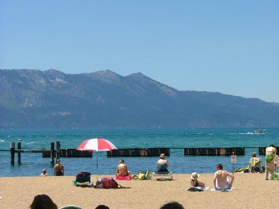 South Lake Tahoe, CA: Lakeside Beach