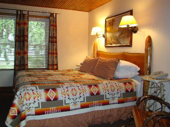 Finger Lakes Lodging: The Finger Lakes Suite King Bedroom
