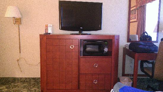 Baymont Inn Grand Rapids N/Walker: TV center