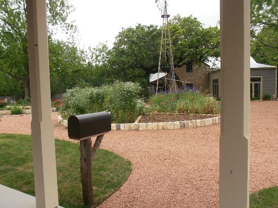 Fredericksburg Herb Farm - Sunday Haus Cottages: View from Cottage #7