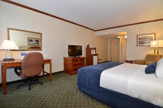 BEST WESTERN PLUS Charter House Hotel Downtown Winnipeg : Guest Room