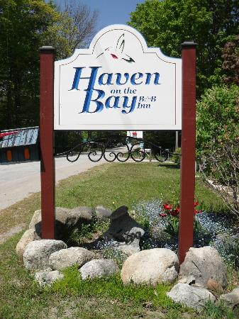 ‪‪Haven on the Bay‬: The new Beautiful sign‬