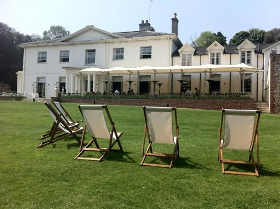 Milsoms Kesgrave Hall: Out come the deck chairs at Kesgrave