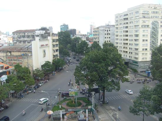 Metropole Hotel: view from our room