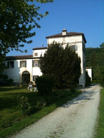The tower of Villa Verita