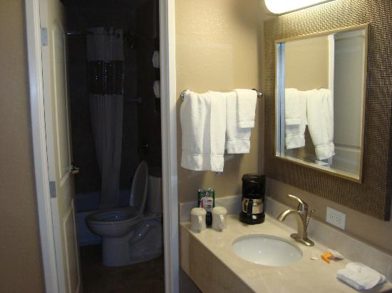 La Quinta Inn & Suites Seattle Downtown: bathroom