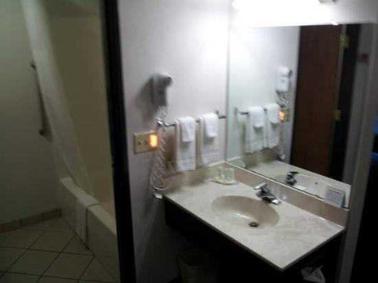 Quality Inn: Hill City Comfort Inn room sink/entry to bathroom