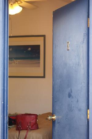 Hermosa Hotel: Upgraded Room Door