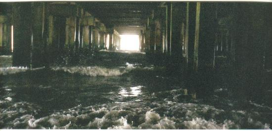 Days Inn Atlantic City Beachfront: Under the AC Boardwalk