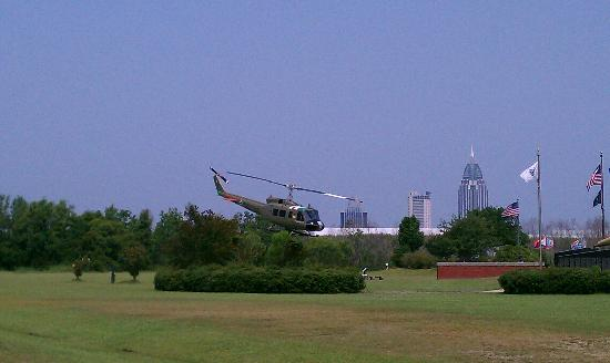 Mobile, AL: Vietnam War Helicopter