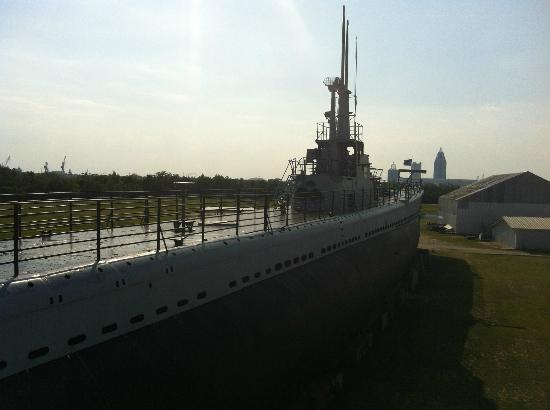Mobile, AL: The USS Drum