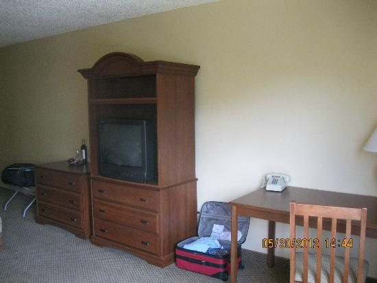 Evergreen Lodge: Entertainment center